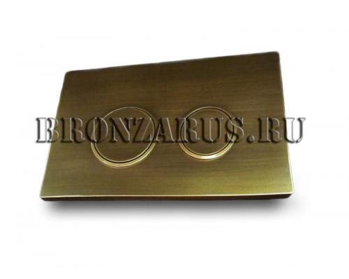 115.778.KH.1.BZ Geberit Sigma20 Смывная клавиша, в бронзе