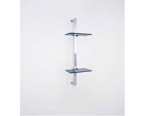 Настенная стойка с двумя полочками Samo YA1001.2
