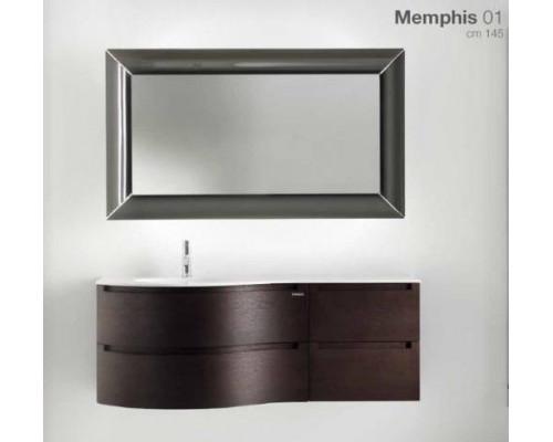 Комплект мебели для ванной комнаты Berloni Bagno Memphis 01
