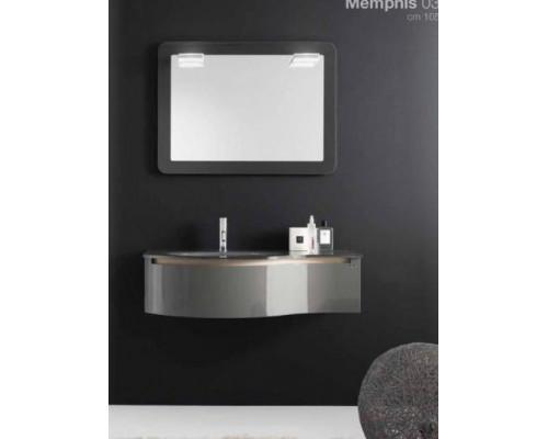 Комплект мебели для ванной комнаты Berloni Bagno Memphis 03