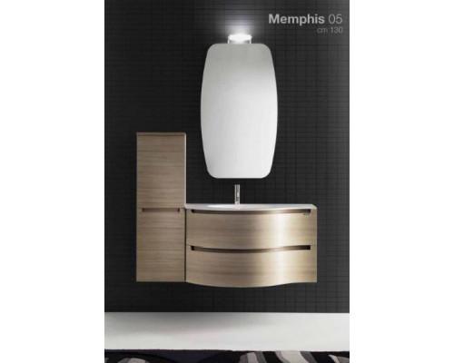 Комплект мебели для ванной комнаты Berloni Bagno Memphis 05