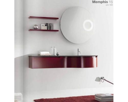 Комплект мебели для ванной комнаты Berloni Bagno Memphis 15