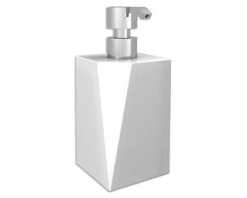 Дозатор для жидкого мыла настенным держателем Bertocci Freeze