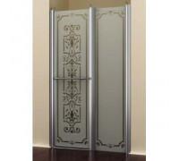 Дверь распашная с неподвижным элементом Romance Collection BL.S2.120.REV.FGTP