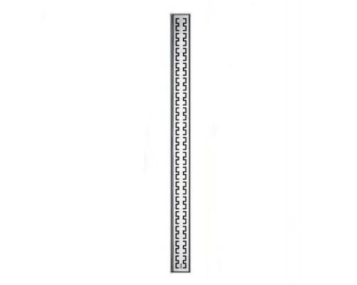 Декоративная решетка TECEdrainline для дренажного канала 100 см