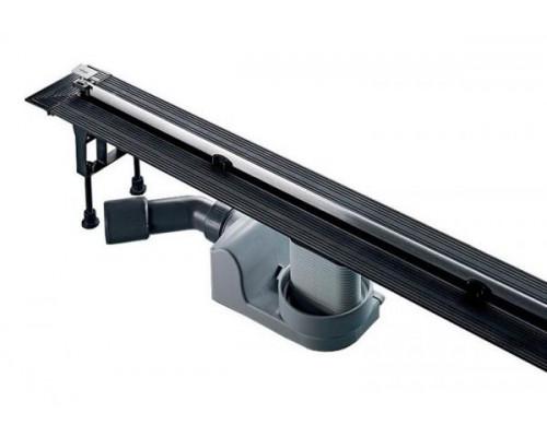 Душевой лоток Viega Advantix Vario Set 704353 с опорами и дизайн-вставкой хром матовый