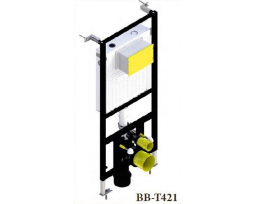 Инсталляция для подвесного унитаза BelBagno BB-T421