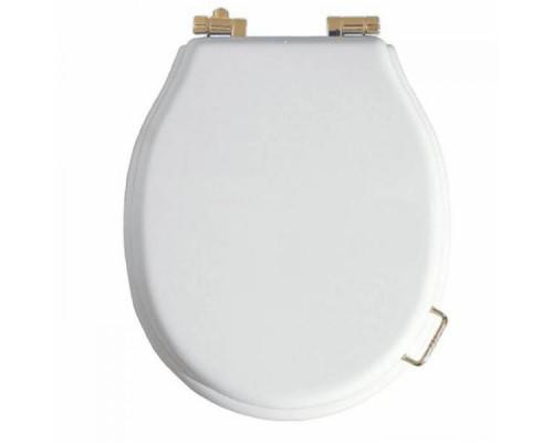 Крышка для унитаза с микролифтом Boheme белая