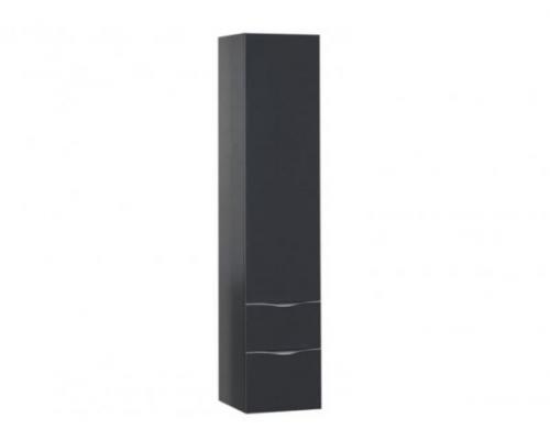 Пенал напольный Aquanet Асти 40 П серый антрацит 184028
