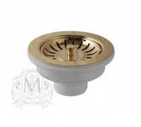 Слив для кухонной мойки Migliore ML.RIC-10.107.BR D 90 см, бронза
