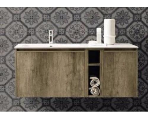 Комплект мебели Cerasa Movida 120х50,5 см SX, Tavolato Biscotto