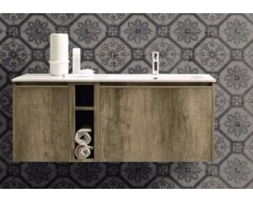 Комплект мебели Cerasa Movida 120х50,5 см DX, Tavolato Biscotto