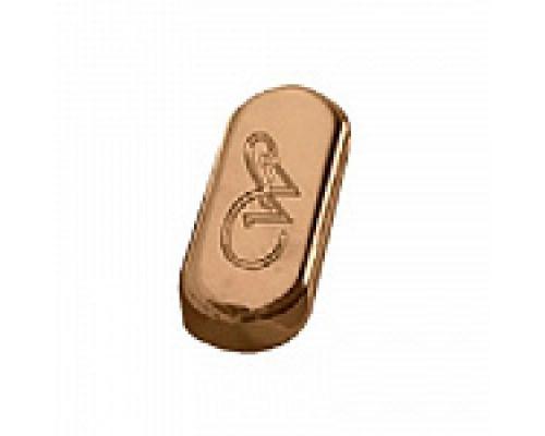 Заглушка для перелива Kerasan Waldorf 811391oro, золото