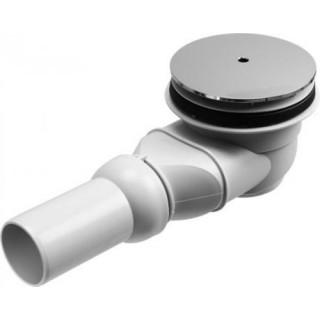 Сифон для поддона Duravit 790263 00 0 00 1000 сток горизонтальный, хром