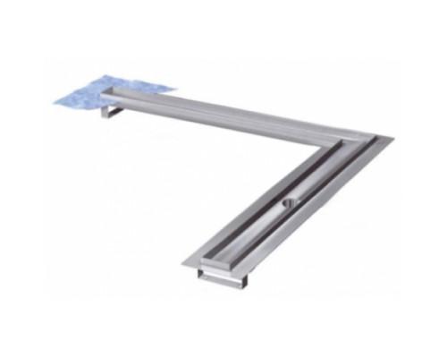 Дренажный канал TECEdrainline угловой с гидроизоляцией Seal System 90х90 см, 610900