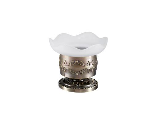 13916-2 HAYTA  Мыльница настольная, стекло в бронзе