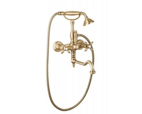 Смеситель Cezares Nostalgia NOSTALGIA-VDF-02 для ванны с ручным душем