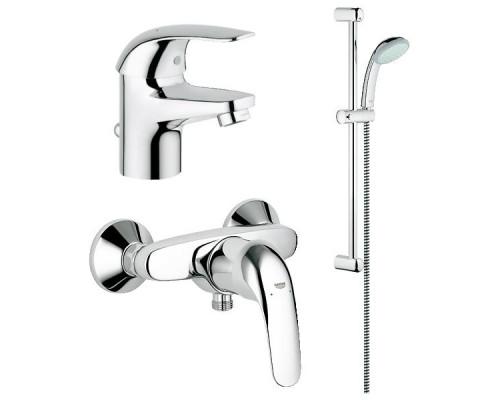 Grohe Euroeco Набор смесителей для ванной комнаты 116935