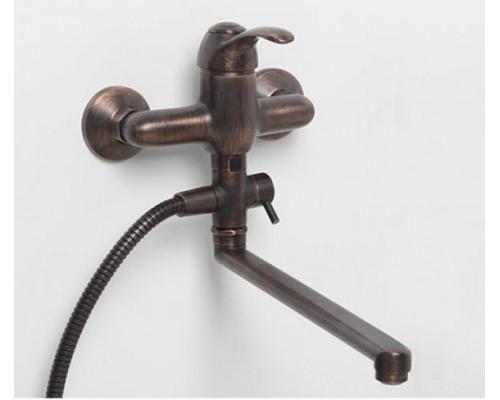 Смеситель WasserKraft Isar 1302L для ванны с душем