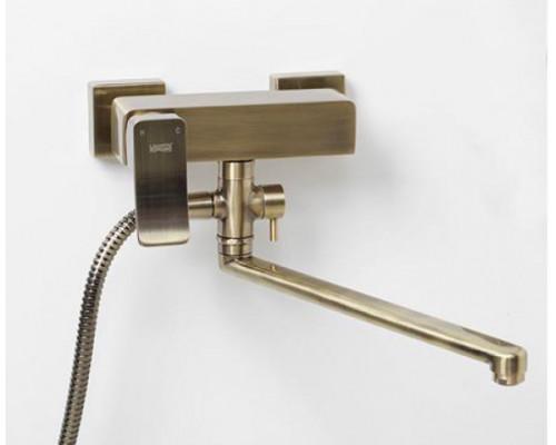 Смеситель WasserKraft Exter 1602L для ванны с душем