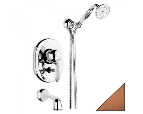 Смеситель встраиваемый для ванны Nicolazzi P.M. Blanc 3400BZ76