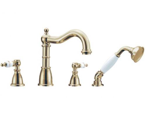 Смеситель Boheme Provanse 394 для ванны с душем