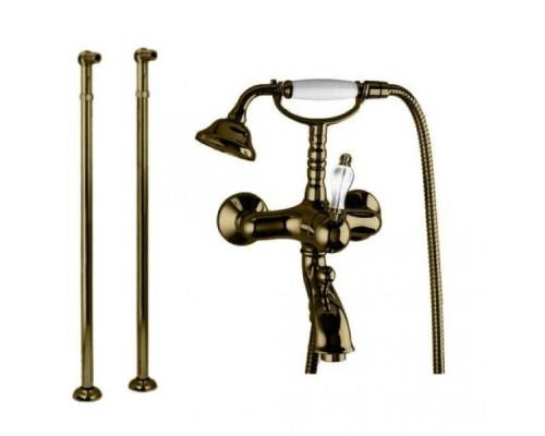 Смеситель Cezares Venezia VENEZIA-VDP-02-Bi для ванны с душем напольный бронза