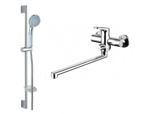 Комплект Bravat Eler F00449CP для ванной комнаты 2 в 1