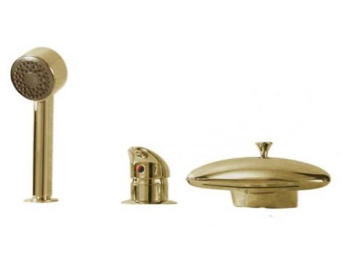 Смеситель Boheme Niagara 397 для ванны с душем бронза
