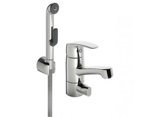 Смеситель Oras Safira 1014F для раковины с гигиеническим душем