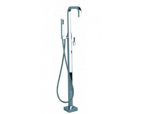 Напольный смеситель для ванны Treemme X-change mono.