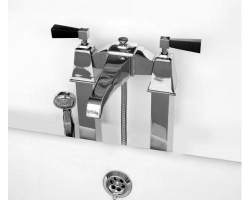 Напольный смеситель для ванны и душа Devon&Devon Vip time 2VPTIME235CRNE