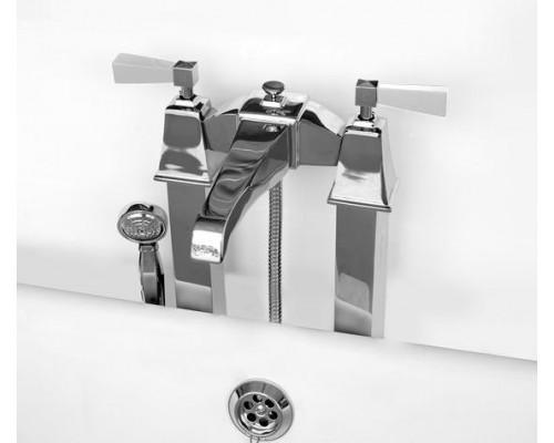 Напольный смеситель для ванны и душа Devon&Devon Vip time 2VPTIME235CRBI