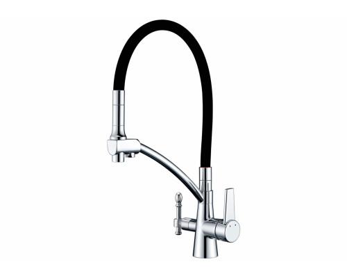 Смеситель для кухни под фильтр Zorg Sanitary ZR 338-6 YF хром