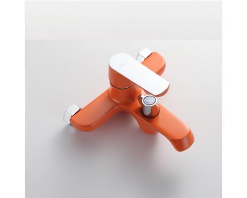 Смеситель в/д Frap F 3232 кор/нос оранж