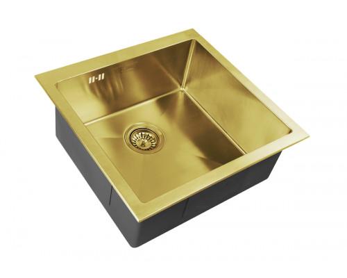 Мойка для кухни Zorg SZR-44 BRONZE цвет бронза