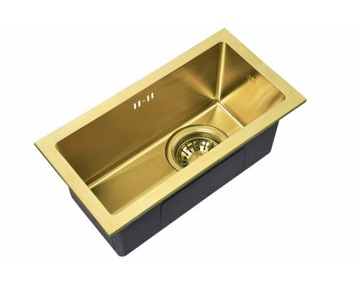 Мойка для кухни Zorg SZR-2344 BRONZE цвет бронза