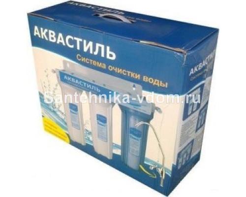 Фильтр  Аквастиль  3-ной с краном жесткая вода ()