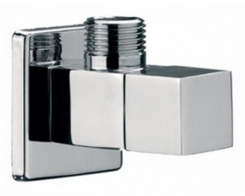 Кран RR 1/2-3/8  (128 S) угл,(керамич, вент, гол,)