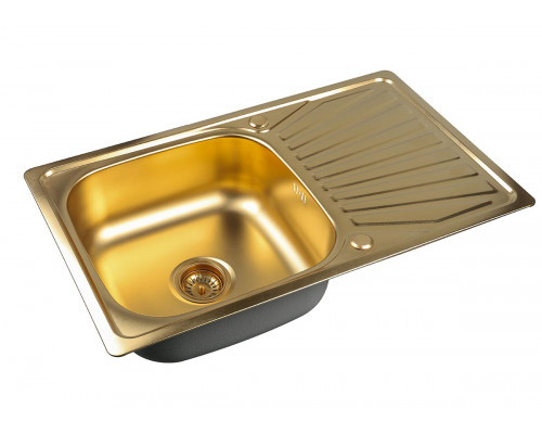 Мойка для кухни ZorG SZR 7848 BRONZE цвет бронза