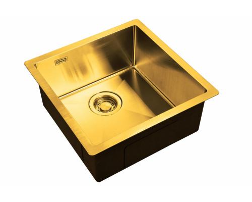 Мойка для кухни ZL R 440440 BRONZE цвет бронза