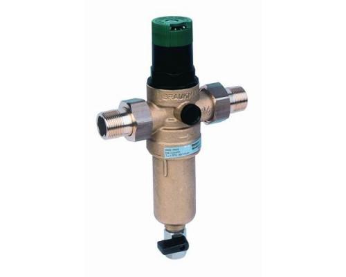 Honeywell  FK06 3/4 AAМ фильтр 100 мк с редуктором давления