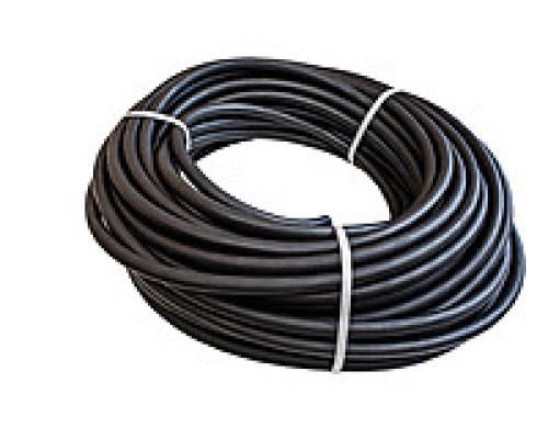 Шланг армированный черный ф 20 мм  (цена за метр)