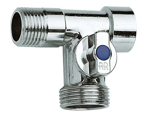 Кран RR 3-х проходной шаровый (260)