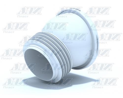 Труба фановая АНИ 110х22,5 короткая (W2228)