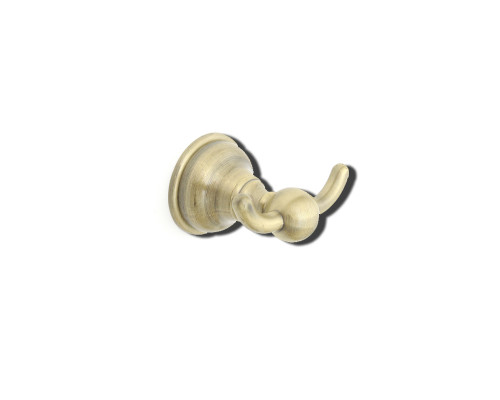 25701BZ Verrano Sofistik Крючок двойной, бронза