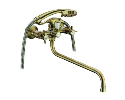 2702660-Bronze Elghansa Praktic Смеситель для ванны, бронза.