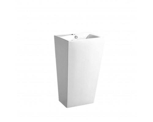 MLN-B143 Melana Раковина напольная, форма колонна, размер 47,5 см., цвет белый.
