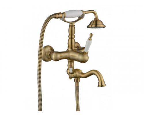Cмеситель для ванной Prestigio 701 BR Aksy Bagno цвет бронза