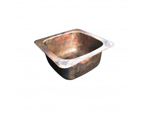 BS-029-AG bronze Elix Мойка для кухни, из литой бронзы, цвет состаренная бронза.